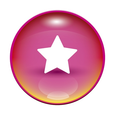 An image of a pink button with a star photo