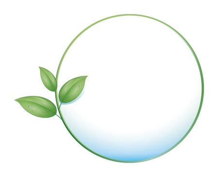An image of a green nature concept icon Stock Photo - 8573731