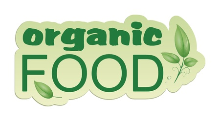 An image of an organic food web icon Stock Photo - 8573729