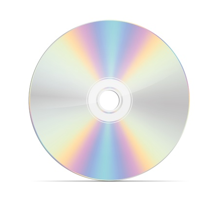 rom: An image of a nice cd rom Stock Photo