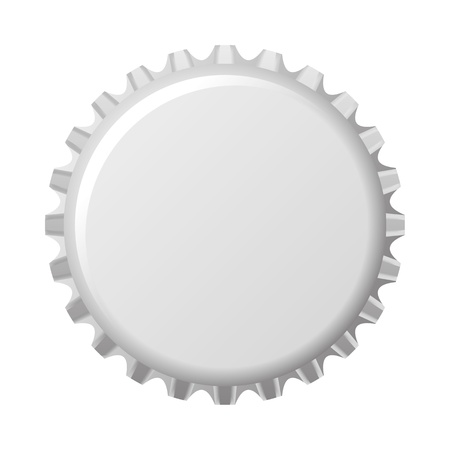 bottle cap: An image of a nice bottle cap Stock Photo