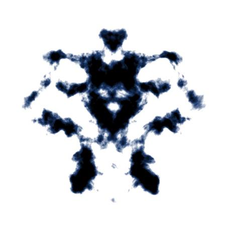 An image of a Rorschach ink blot photo