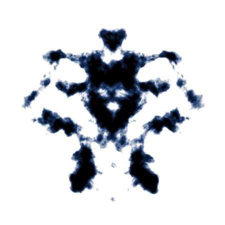psycho: An image of a Rorschach ink blot