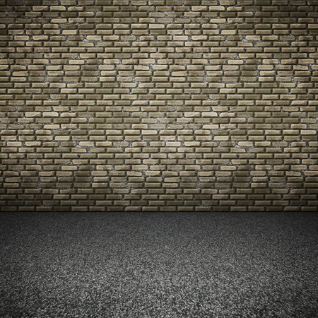An image of a nice brick wall background photo