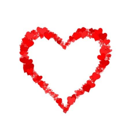 An image of a beautiful heart shape photo