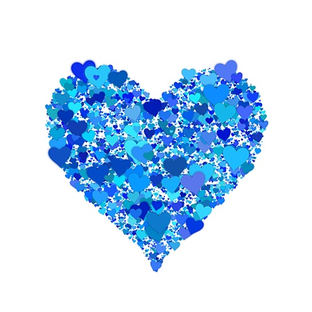 An image of a beautiful heart shape Stock Photo - 8995895