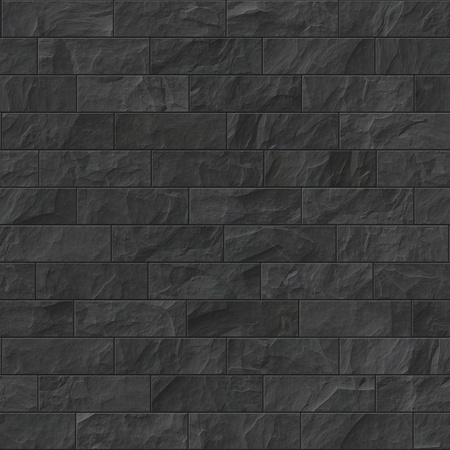 black stone: An image of an old brick wall background