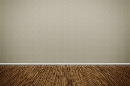 empty space: An image of a nice room with a wall for your content Stock Photo