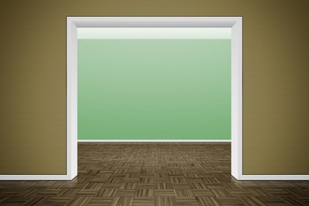 An image of a nice room with a wall for your content Stock Photo - 9133629