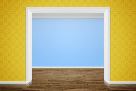 An image of a nice room with a wall for your content Stock Photo - 9133627
