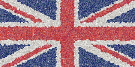 An image of an United Kingdom mosaic photo