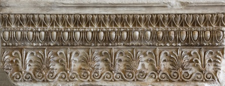 An image of an old greek ornament photo