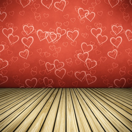 An image of a nice hearts floor for your content photo