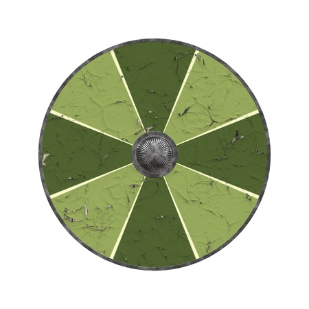 the crusades: An image of a nice vintage shield Stock Photo