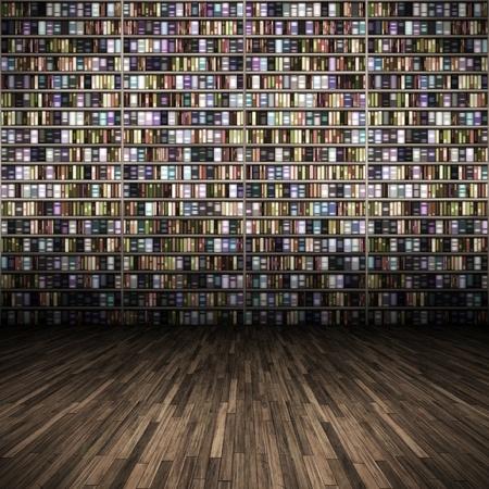 図書館: 素敵な図書館背景のイメージ 写真素材