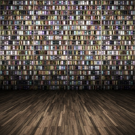 Ein Bild des eine schöne Bibliothek-Hintergrund Standard-Bild - 9239855
