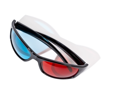 An image of a pair of 3D glasses photo