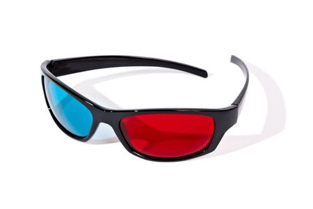 An image of a pair of 3D glasses Stock Photo - 9291863