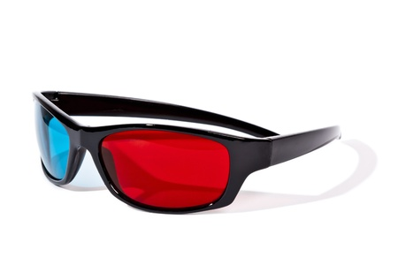 An image of a pair of 3D glasses Stock Photo - 9291862
