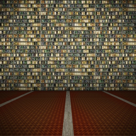 bookcase: An image of a nice library background