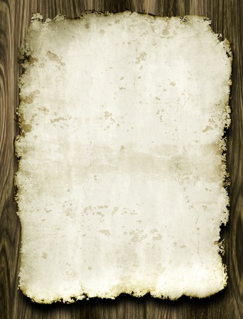 An image of a nice old parchment photo