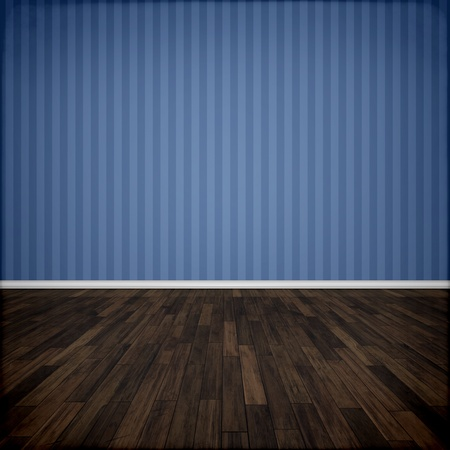 An image of a beautiful blue room Stock Photo - 9444280