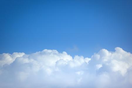 Ein Bild von einem Flug ?ber den Wolken