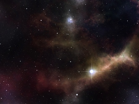 An image of a high details stars background photo