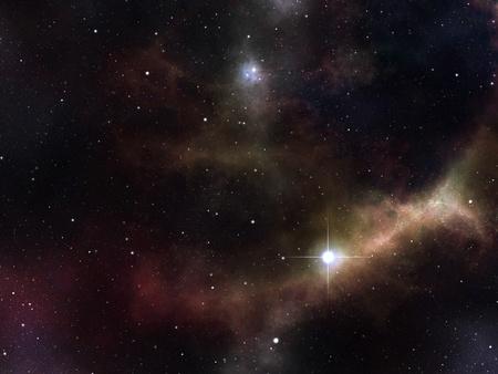 cielo estrellado: Una imagen de un fondo de estrellas de alto detalles Foto de archivo
