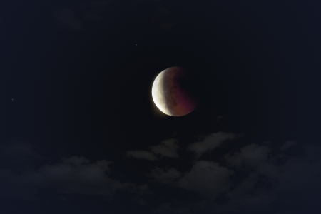 An image of the lunar eclipse 2011 june Stock Photo - 9749970
