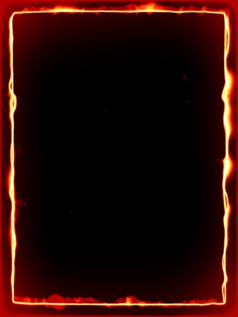 An image of a nice fire frame photo