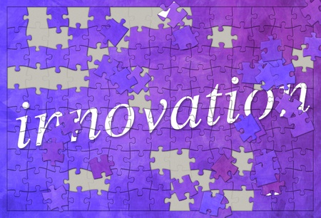 An image of an innovation jigsaw puzzle photo