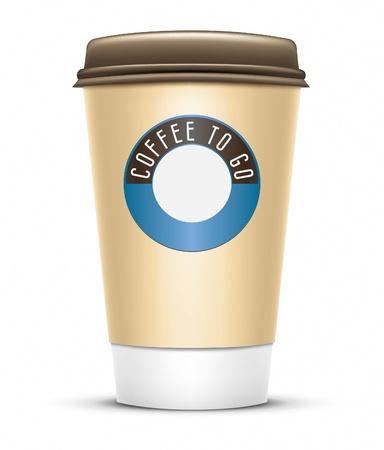 caf� � emporter: Une image d'un bon caf� pour aller