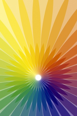 blue bubbles: An image of a nice rainbow color background