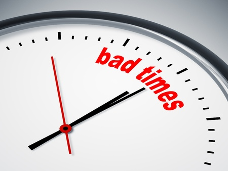 bad times: An image of a nice clock with bad times