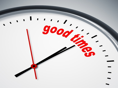 good times: An image of a nice clock with good times
