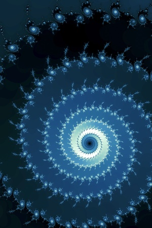 An image of a typical fractal graphic photo