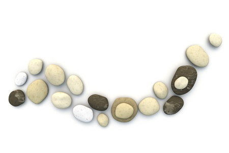 An image of a nice stones wave Stock Photo - 10301605