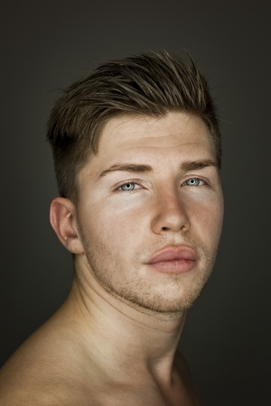 An image of a young handsome man photo