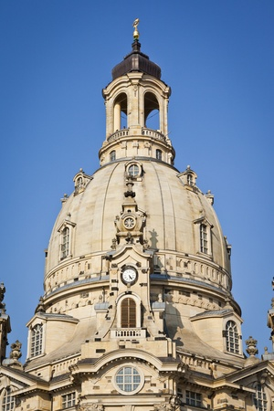 An image of the famous Frauenkirche in Dresden Germany photo