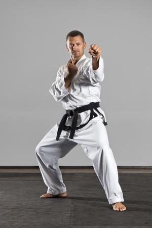 An image of a martial arts master photo