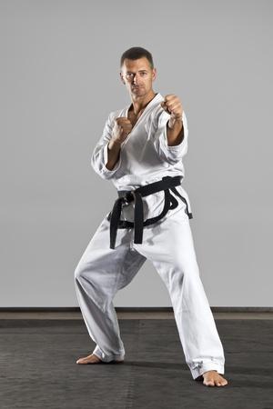 black belt: An image of a martial arts master