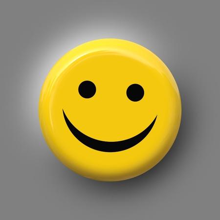 노란색 배경에 멋진 미소의 이미지