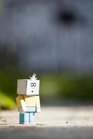 pathetic: An image of a handmade sad character
