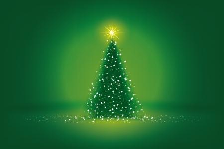 Ein Bild von einem schönen grünen Christmas Hintergrund Standard-Bild - 10512999