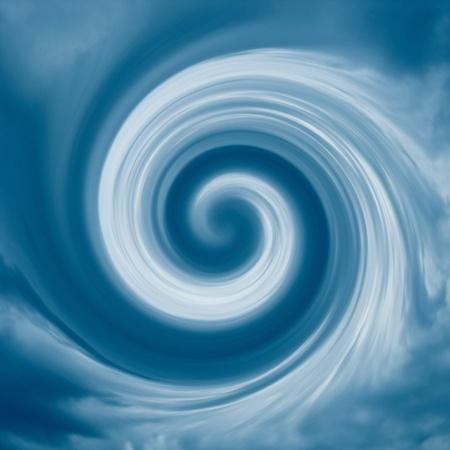turbulence: An image of a cloud turbulence background Stock Photo