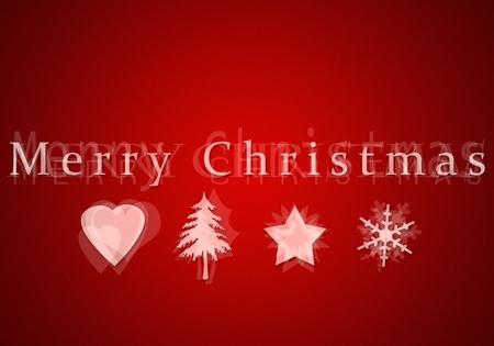 An image of a nice merry christmas postcard Stock Photo - 10851248