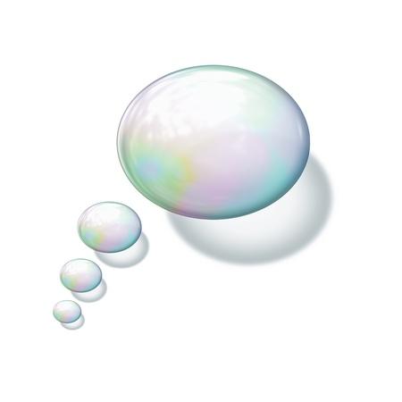 bulles de savon: Une image de fond des bulles de savon belle