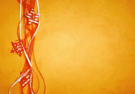 An image of a nice orange christmas background Stock Photo - 10884681
