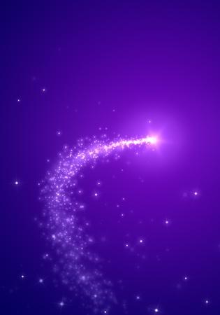 tiro al blanco: Una imagen de una estrella fugaz fondo agradable
